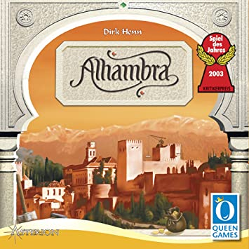 Asmodée Queen Games QGAL01 Alhambra - Juego de Estrategia: Amazon ...