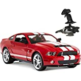 BCP 1/14 RC Ford Mustang Shelby GT500 Gravity Sensor Remote Control Car Red