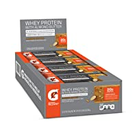 Deals on 12-Pack Gatorade Whey Protein With Almond Butter Bars 2oz