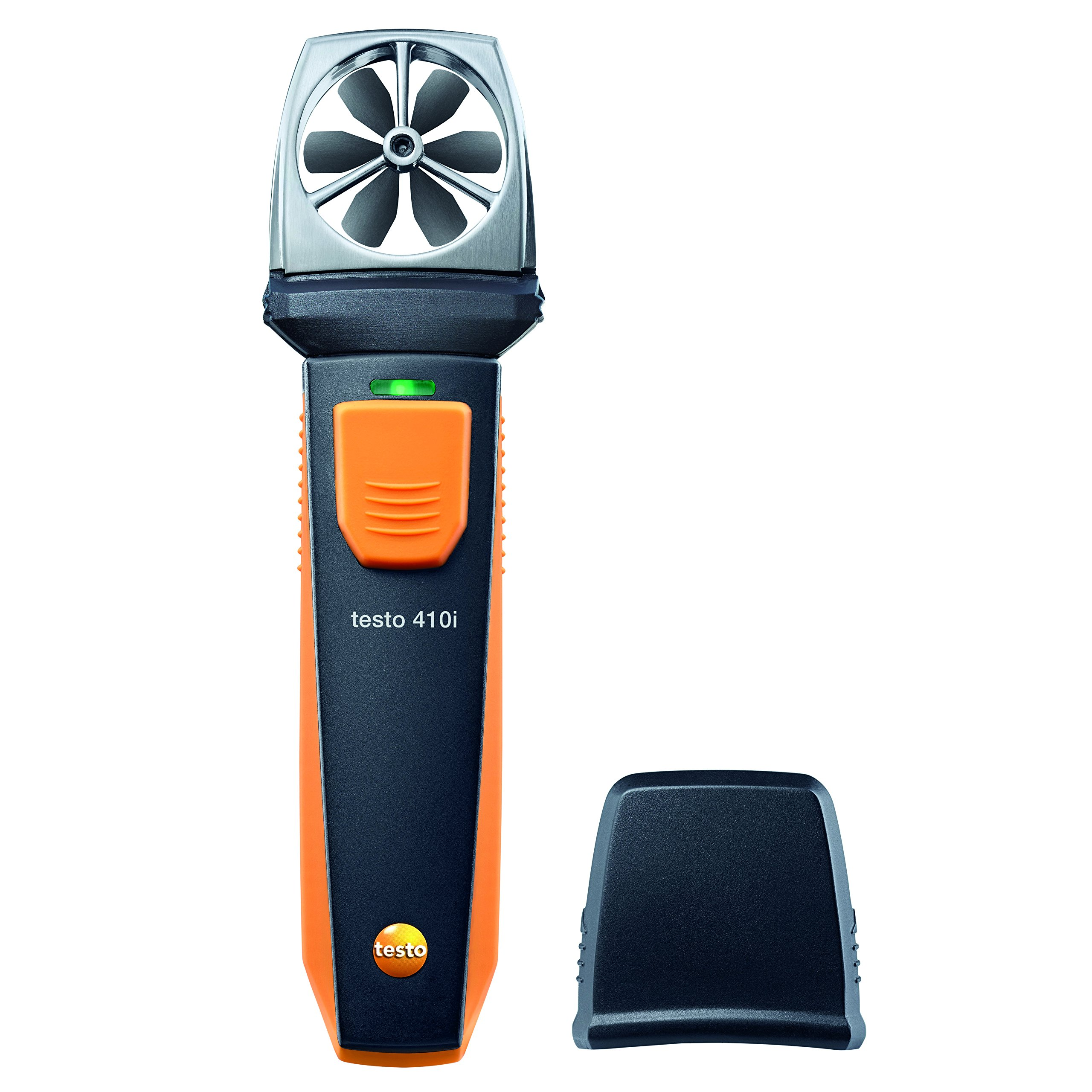 Testo 0560 1410 410I Vane Anemometer Smart and Wireless Probe, 1'' Height, 2'' Width, 6'' Length by Testo