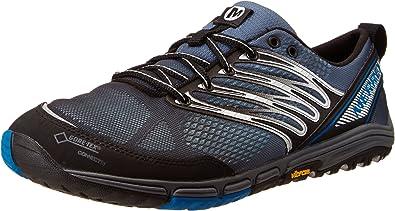 Merrell Ascend Glove Gore Tex - Zapatillas de Running de Cuero ...