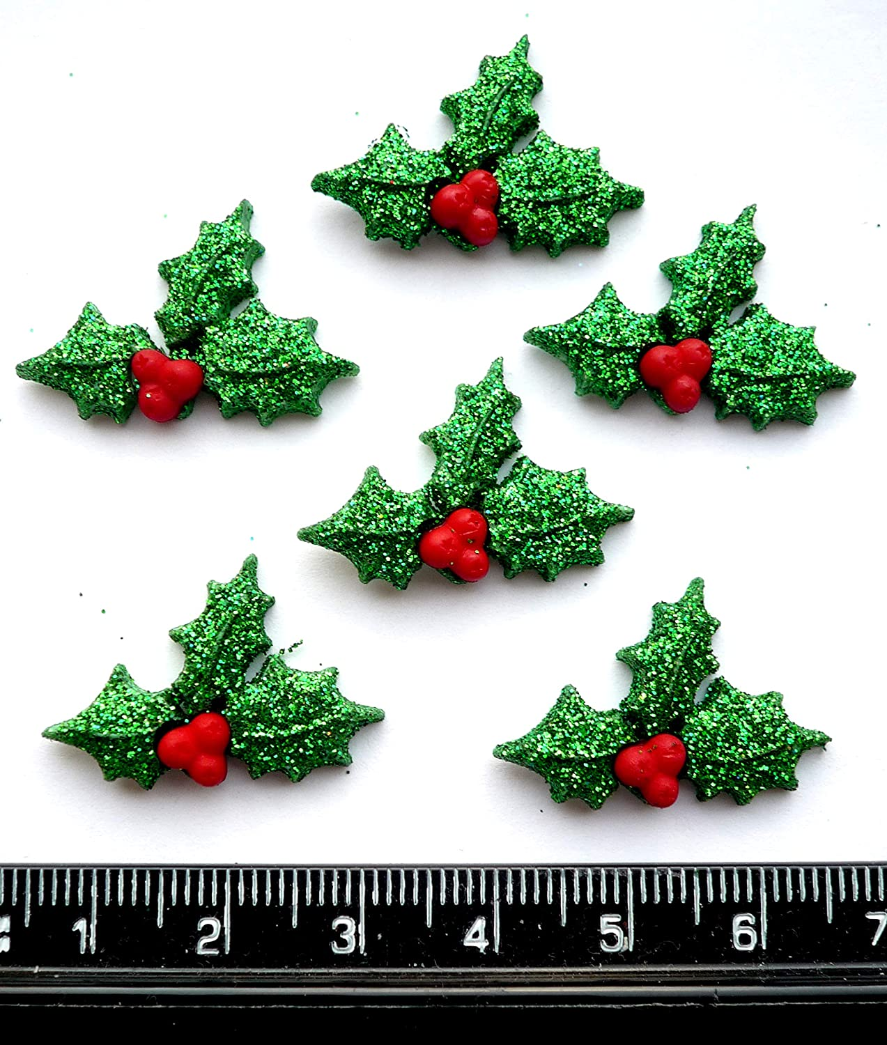 2 doubles and a single Small Holly a triple Miniature Christmas Presents