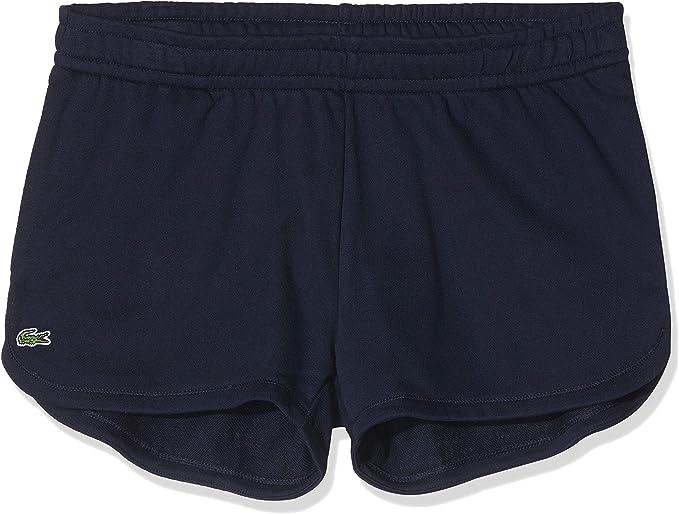 Lacoste GF1553 Mujer Shorts de chándal, señora Pantalones ...