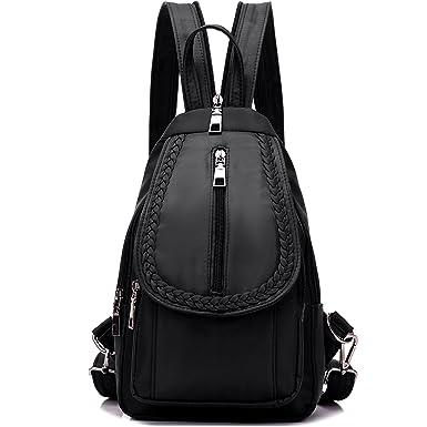 a7c544947 NOVOSACO Girls Convertible Small Nylon Backpack Purse Cross Body Sling  Shoulder Bag