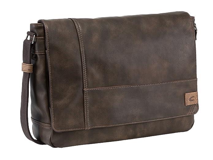 Camel Active Messenger bag; 251 Laos Sac bandoulière, 40 cm, (Braun)