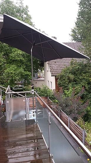 Sonnenschirm Halterung SchirmstöCke Bis Ø 25mm BalkongeläNder Sonnenschutz