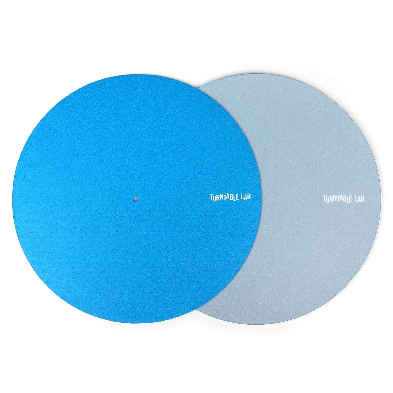 Turntable Lab: Switchmat Reversible Slipmat - Blue/Grey (Single) 4334204751