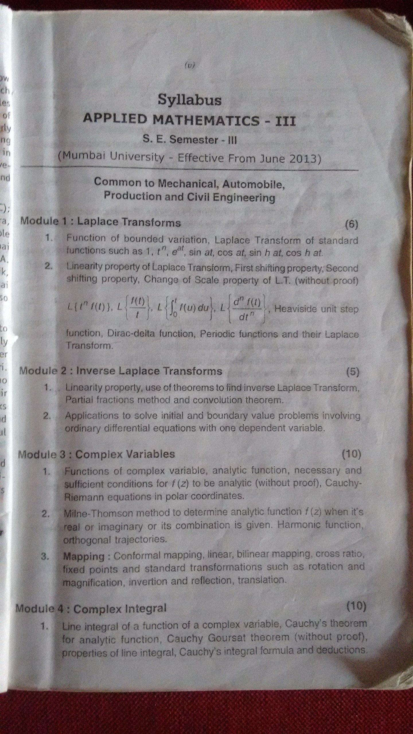 Applied mathematics 1 by g v kumbhojkar pdf editor