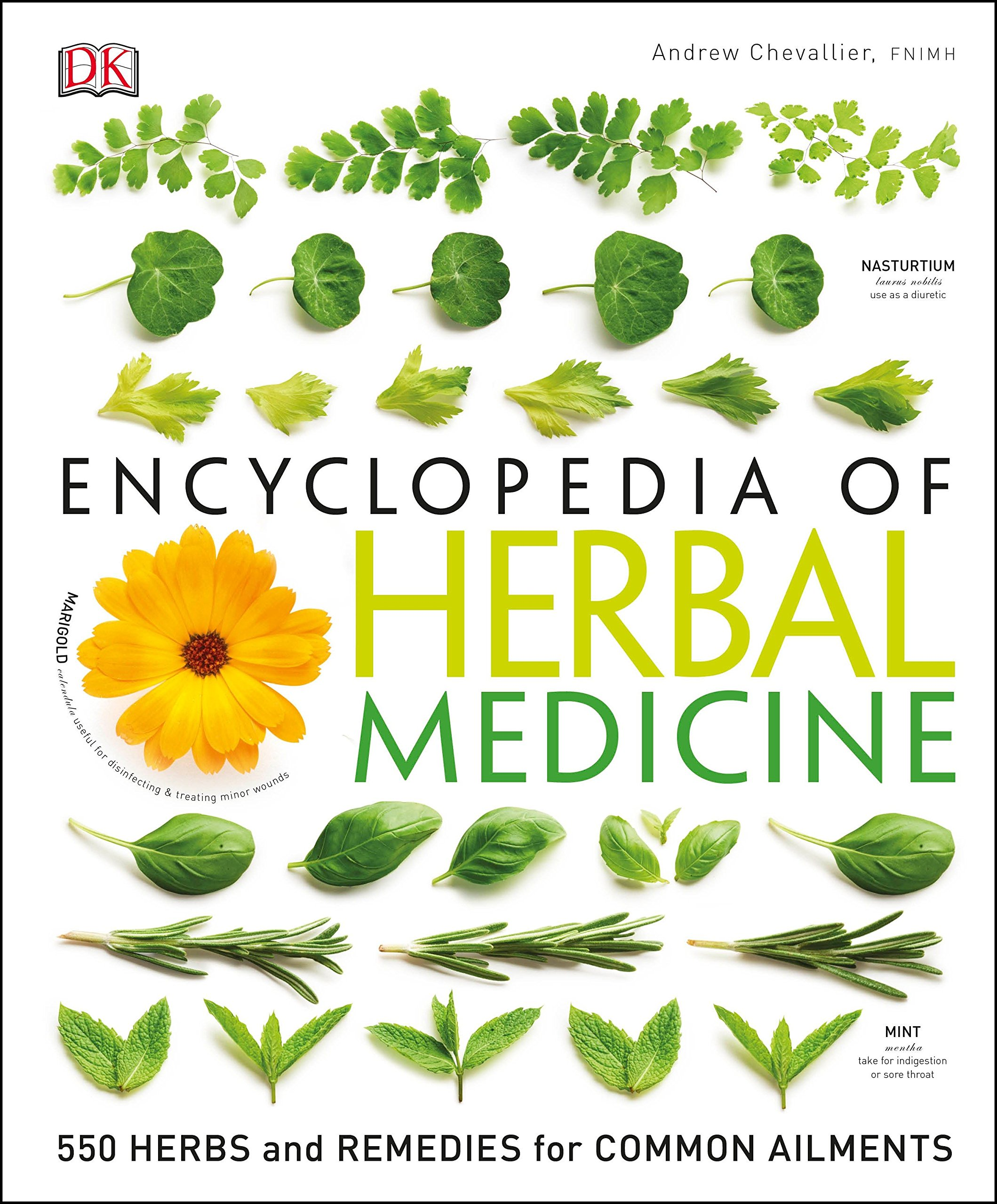 Encyclopedia of Herbal Medicine: 550 Herbs and Remedies for Common Ailments by Dk Pub