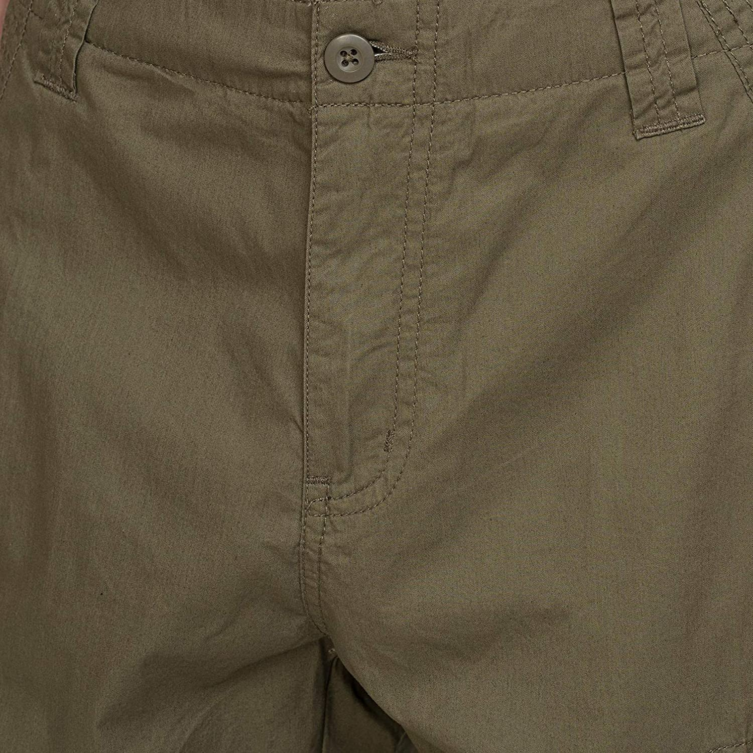 bossini Selection Mens Solid Cargo Shorts 36 Short Sleeve Solid Polo Shirt L,US Size40 Light Blue Waist 37-38