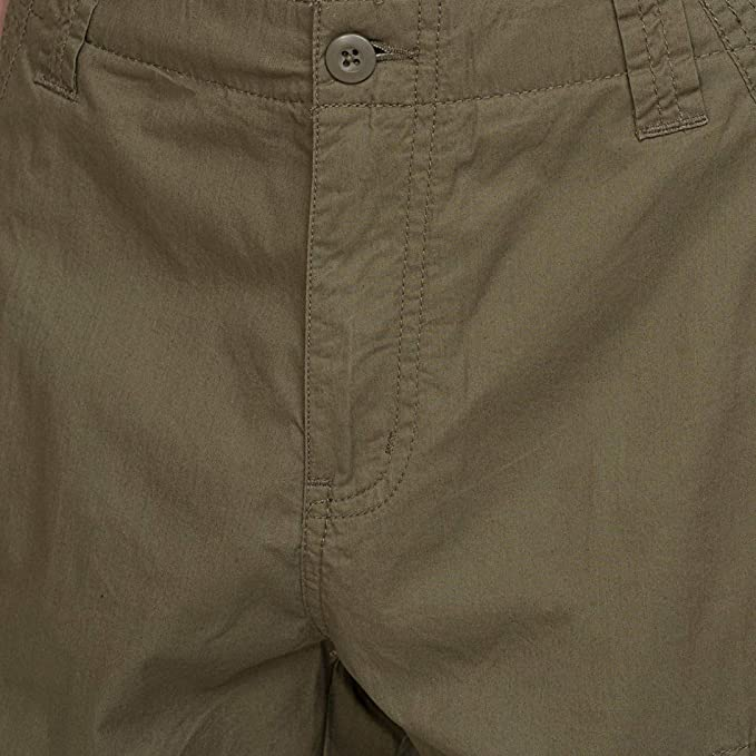 637a3c3308 bossini Selection Mens Solid Cargo Shorts 36, Waist 37