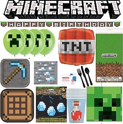 Minecraft Fiesta de Cumpleaños Tazas desechables 9oz 8 Pack