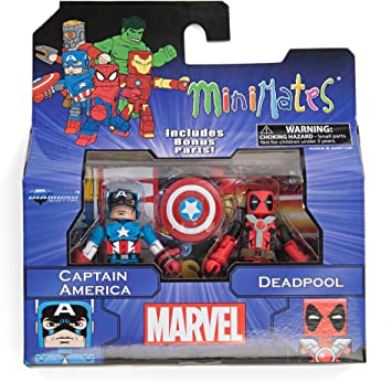 Diamond Select Toys Marvel Minimates Series 2 Captain America ...