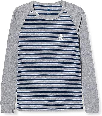 Odlo Bl Top Crew Neck L/S Active Warm Kids Camiseta Bebé-Niños
