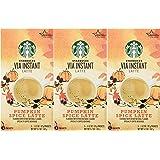 Starbucks VIA® Ready Brew Pumpkin Spice Latte 15 Servings (3 Pack/Boxes) 5 Packets Each Box