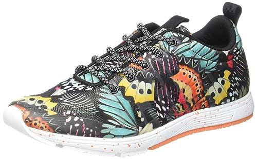 Desigual Shoe Me, Zapatillas Deportivas para Interior para Mujer: Amazon.es: Zapatos y complementos