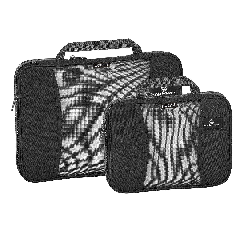 57e904f5eb7f Eagle Creek Travel Gear Pack-it Compression Cube Set, Black
