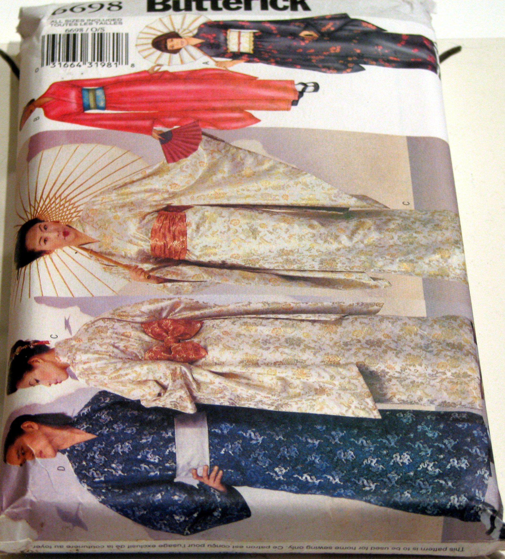 Butterick #6696 - Kimono's Adult patterns by Butterick
