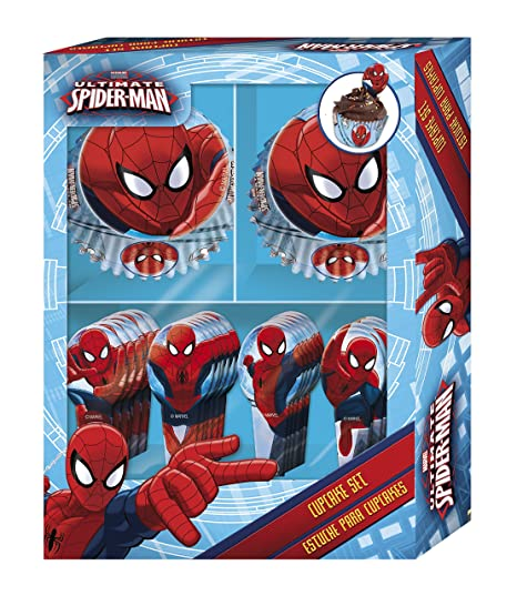 Boyz Toys Cupcake Set - Spiderman