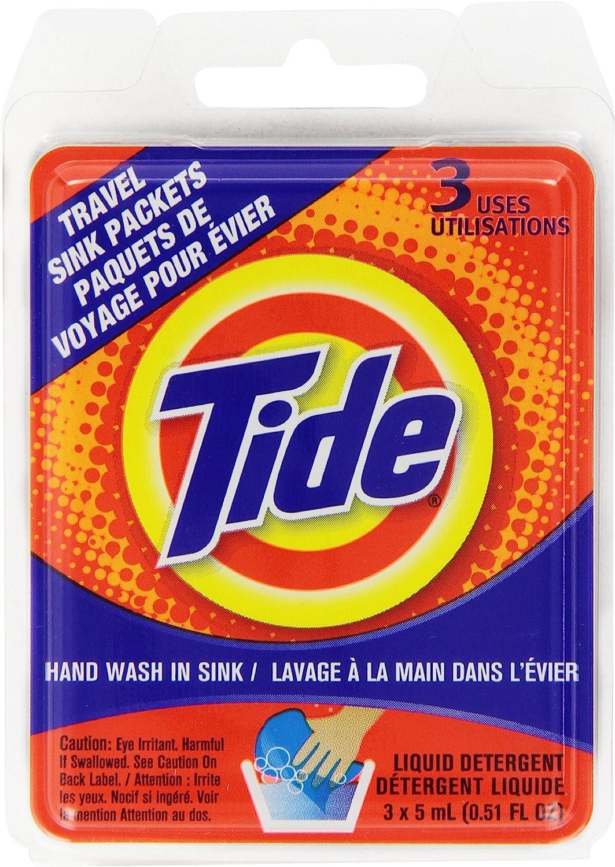 Tide Sink Pack Liquid Laundry Detergent, 0.51 oz, Pack of 12