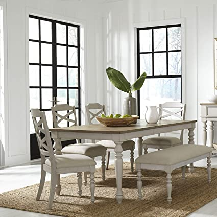 Magnificent Amazon Com Furnituremaxx Amily Wood Vintage White And Uwap Interior Chair Design Uwaporg