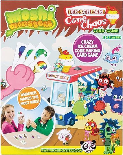 Moshi Monsters Hielo Crema Cono Caos Juego Toys Games