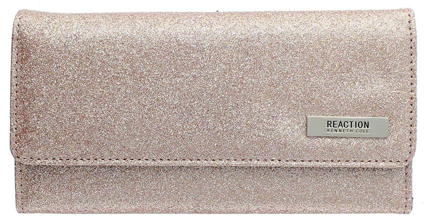 "102522-755 Kenneth Cole Reaction Trifold Clutch ""Tri-Ed & True"""