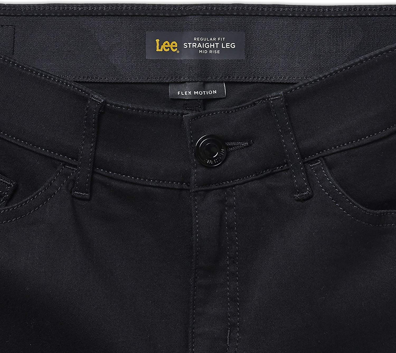 18W Medium Evolve LEE Womens Plus Size Flex Motion Regular Fit Straight Leg Jean
