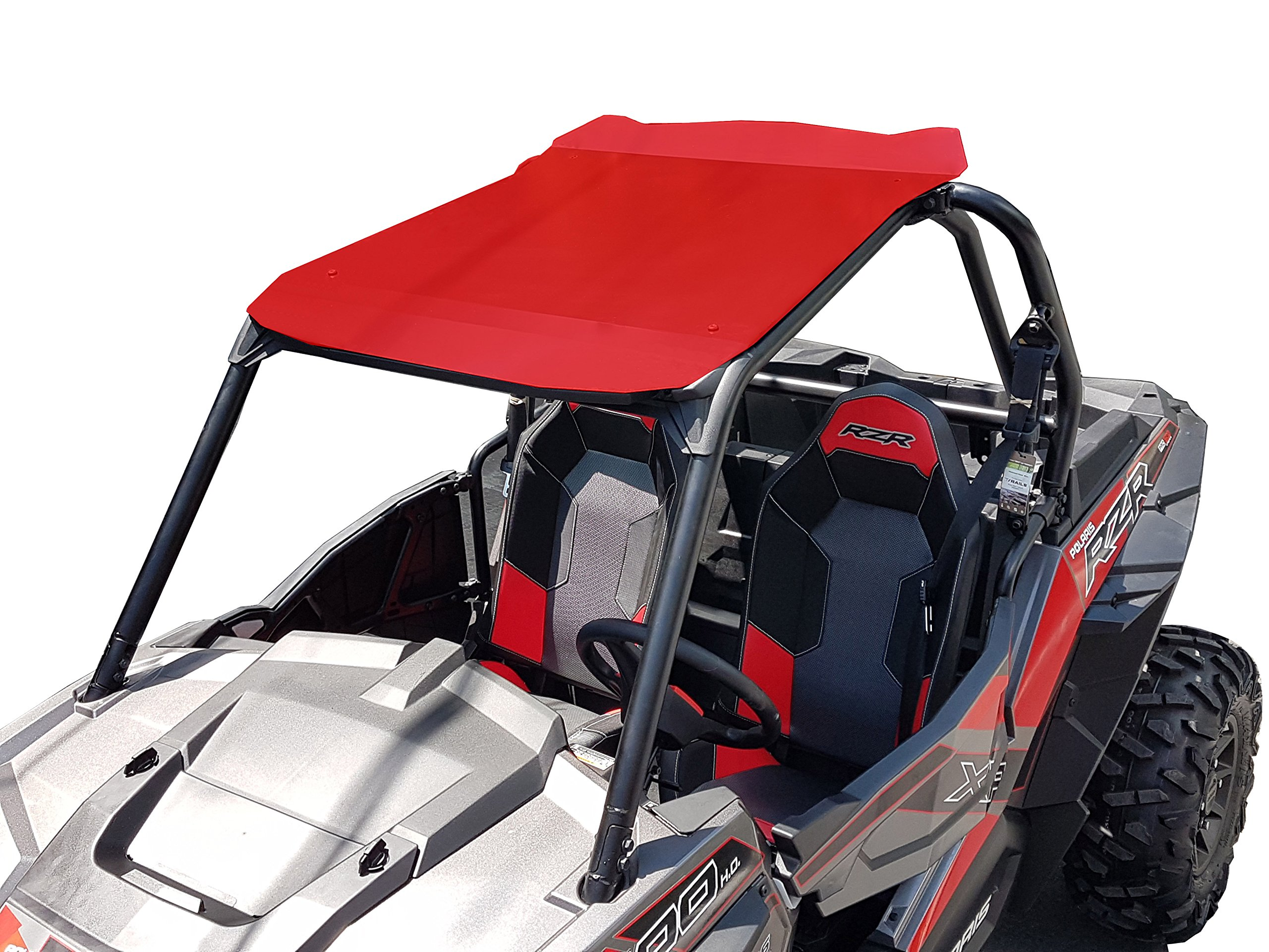 Polaris RZR XP 900/1000 Aluminum Roof 2 Seats Red