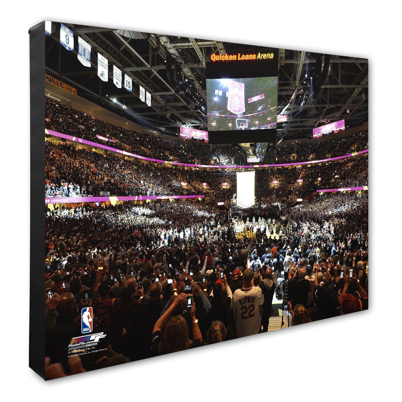 NBA Brooklyn Nets Barclays Center Basketball Arena Canvas Artwork