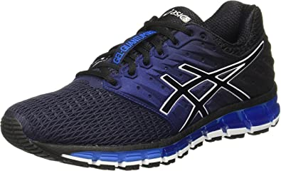 Asics - Gel-Quantum 180 2 - Zapatillas Neutras - Peacoat/Black ...