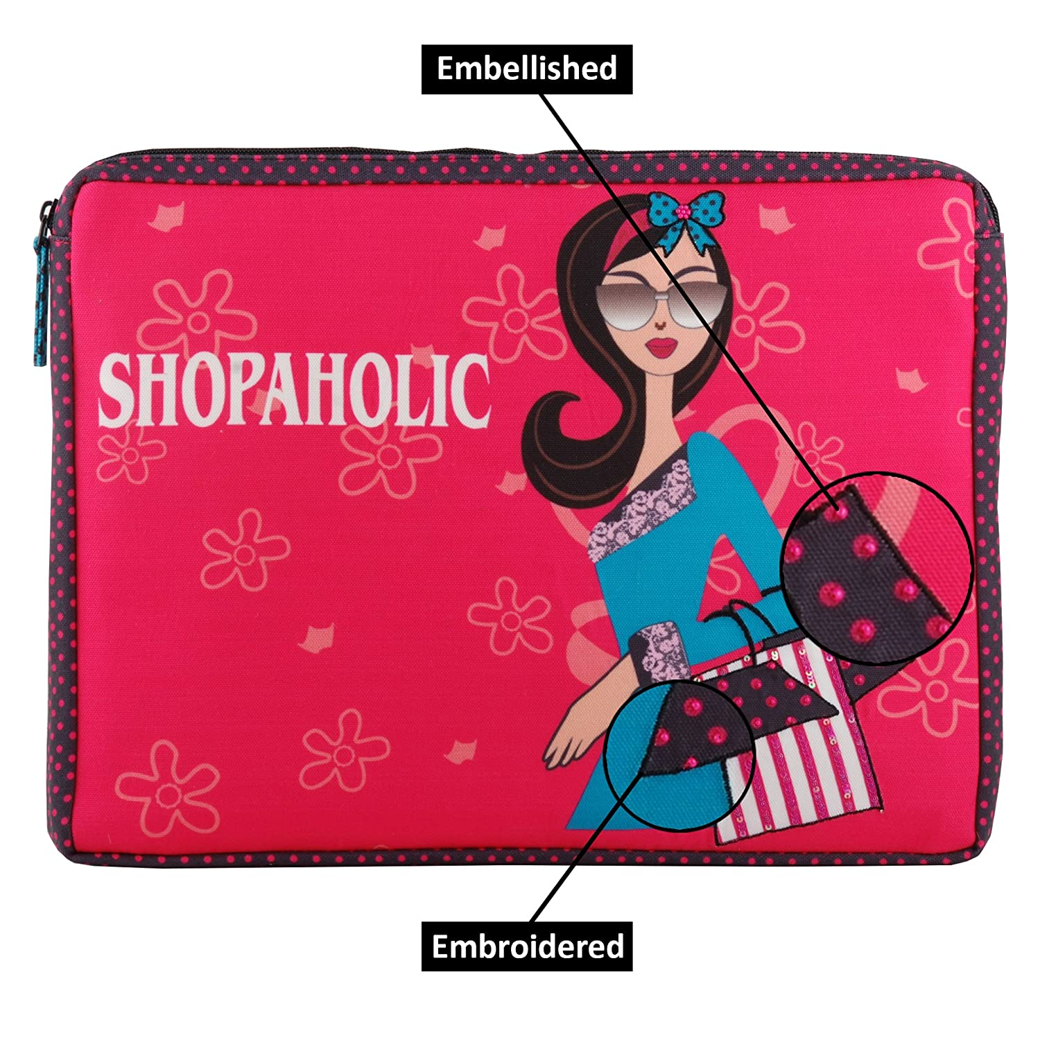 c9cfcb4a33f88 Laptop sleeve multicolor shockproof with additional zipper sleeve at the  back for Macbook air Dell Toshiba Sony Samsung Acer Hp Chromebooknotebook  Ipad pro ...