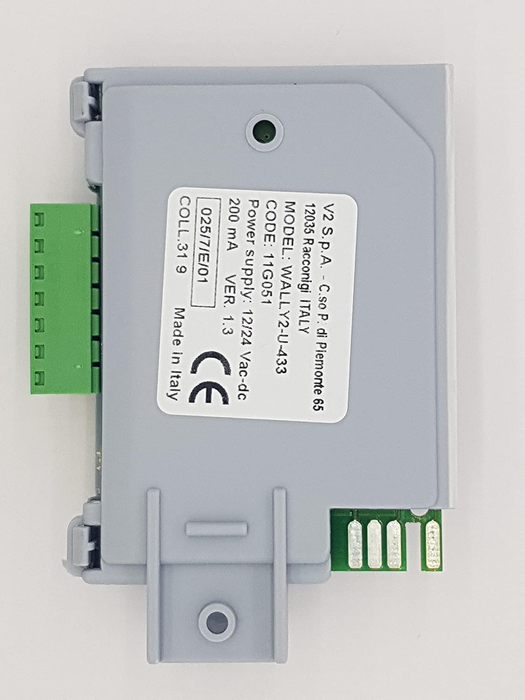 PHOX 12/ TSC Universal de 2/canales receptor para V2/PHOENIX /24/V AC//DC V2/wally1//Wally2//wally4/Compatible Receptor CVR TXC mandos a distancia pr/áctico