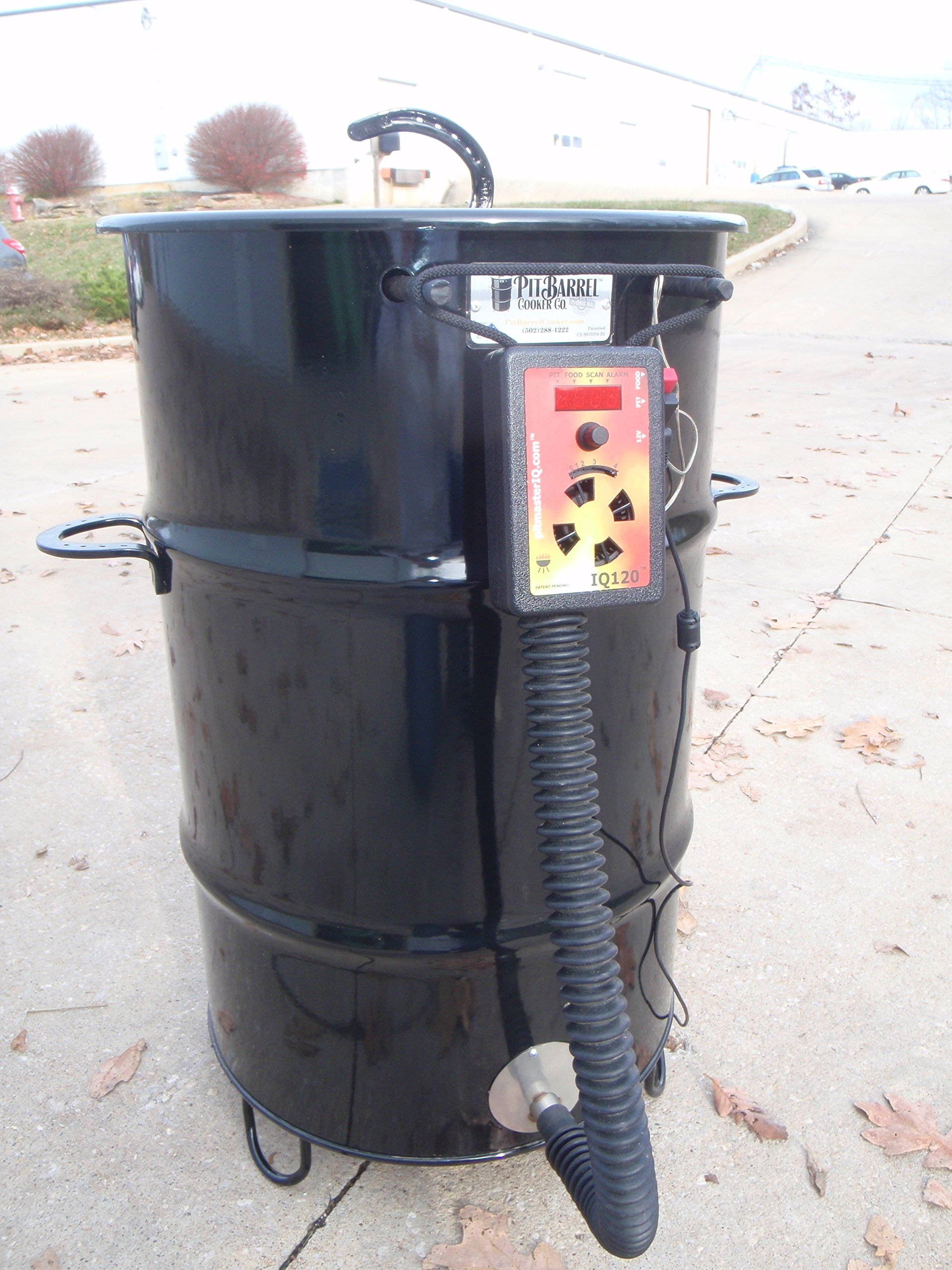 IQ120 BBQ Temperature Regulator Kit for Pit Barrel Cooker