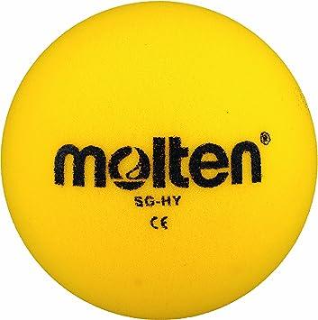 Molten SG-HY - Pelota Blanda de Balonmano (160 mm), Color Amarillo ...