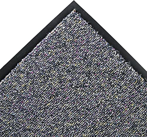 Crown CB0035GY Classic Berber Wiper Mat, Nylon Olefin, 36 x 60, Gray