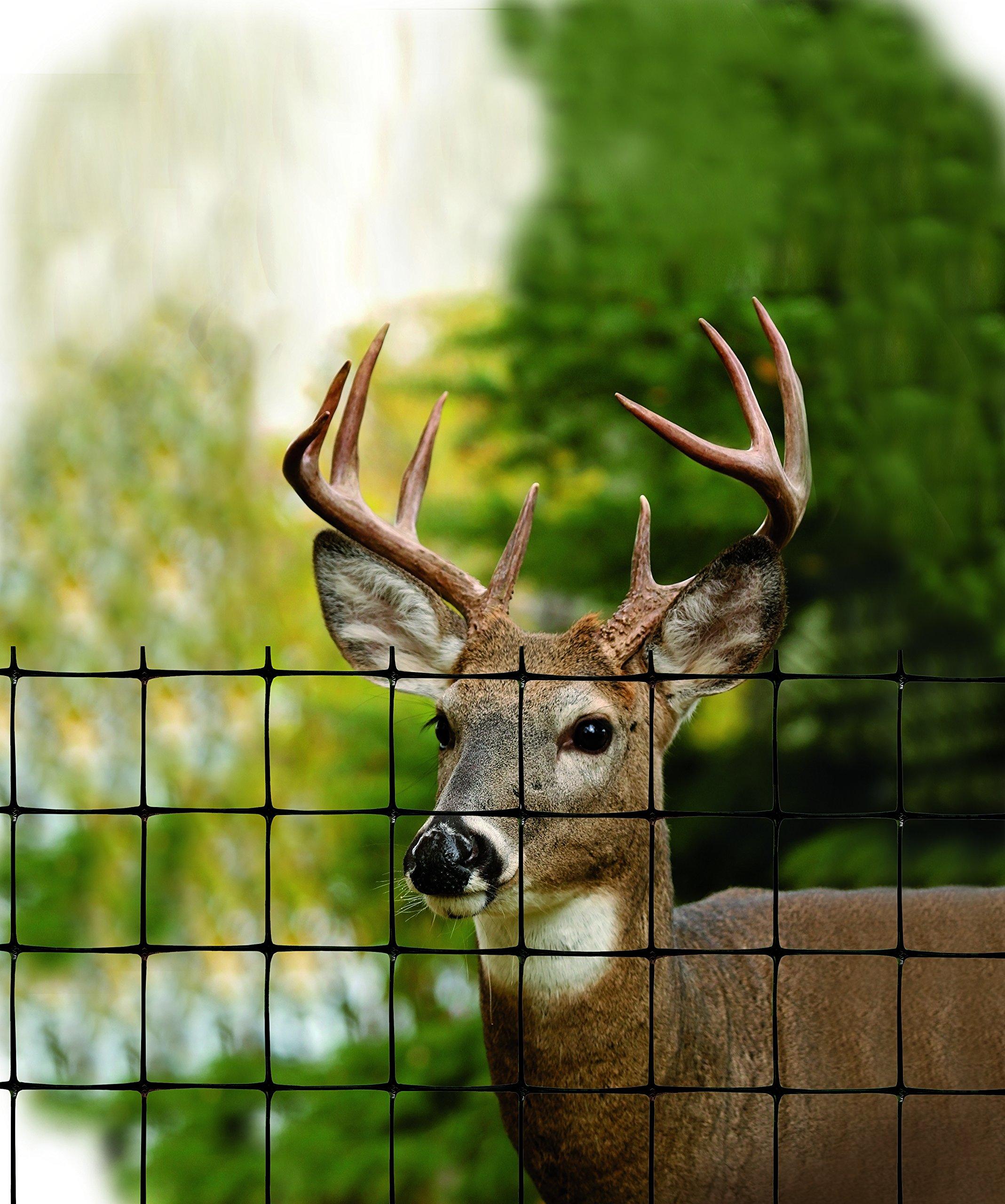 Tenax 2A120379 Deer Fence Economy Control, 7.5' x 165', Black by Tenax