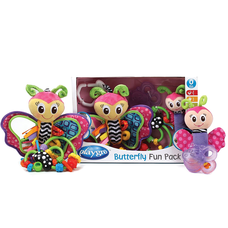 Playgro Set de mordedores diseño Mariposa