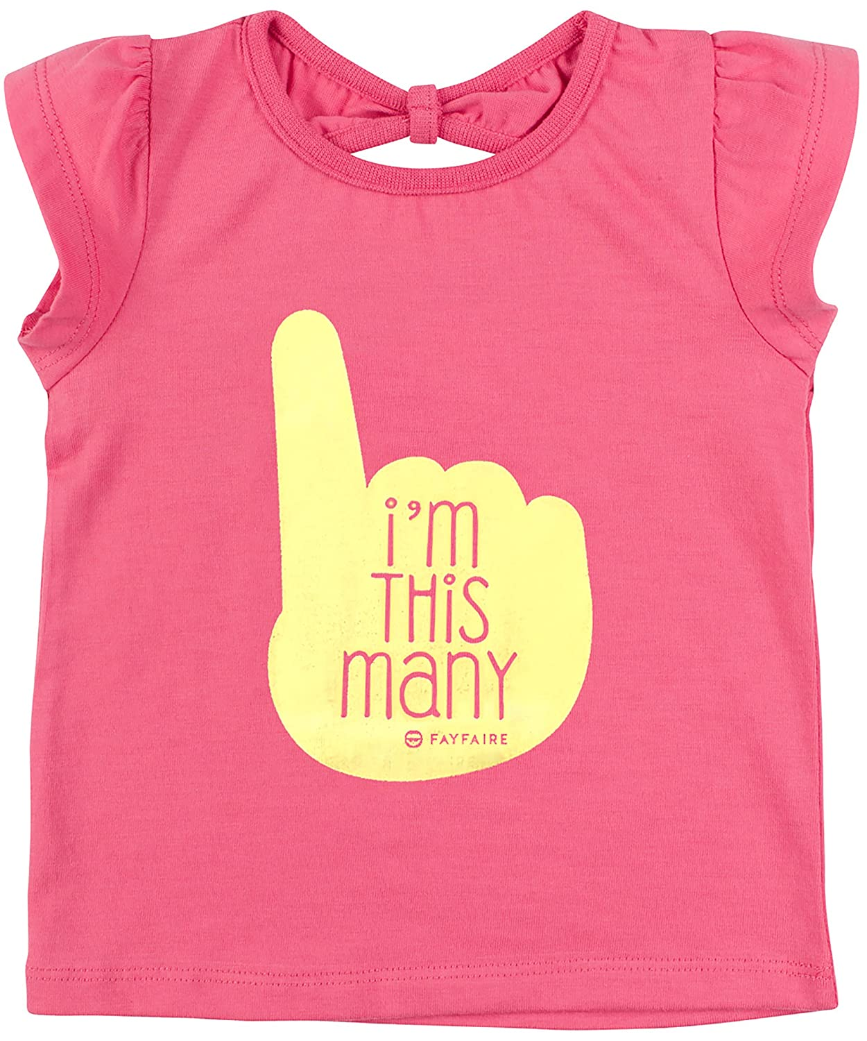 First Birthday Shirt by Fayfaire Boutique 1st Birthday Girl Im This Many 12M-18M
