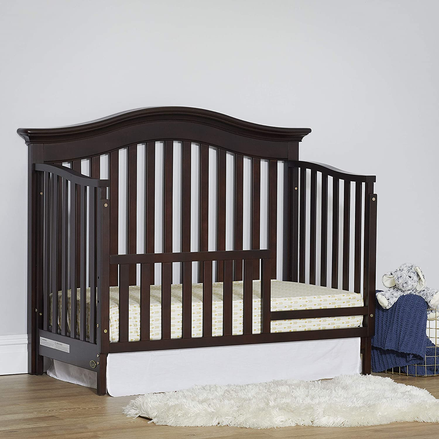 Baby Cache Montana Collection Toddler Bed Guard Rail Espresso