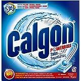 Calgon 3en1 Anticalcaire et Nettoyant pour le Lave-Linge 75 Tablettes