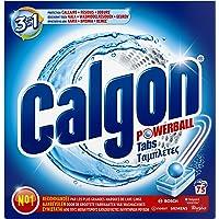 Calgon 3en1 pastilles Anticalcaire Nettoyant pour Machine à laver - 75 tablettes