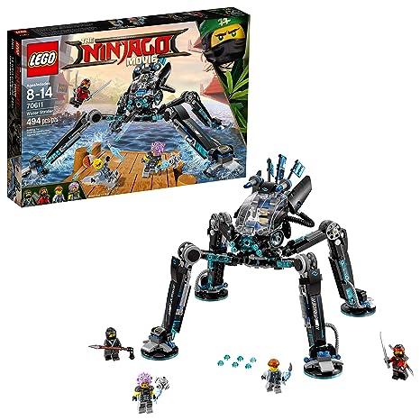ed638dbe5ca75 Amazon.com: LEGO Ninjago Movie Water Strider 70611 Building Kit (494  Piece): Toys & Games