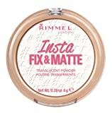 Rimmel London Insta Fix & Matte Powder, Transparent, 8 g