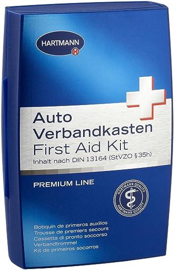 Hartmann 739471 Auto Verbandkasten Premium Din 13164 Amazon De