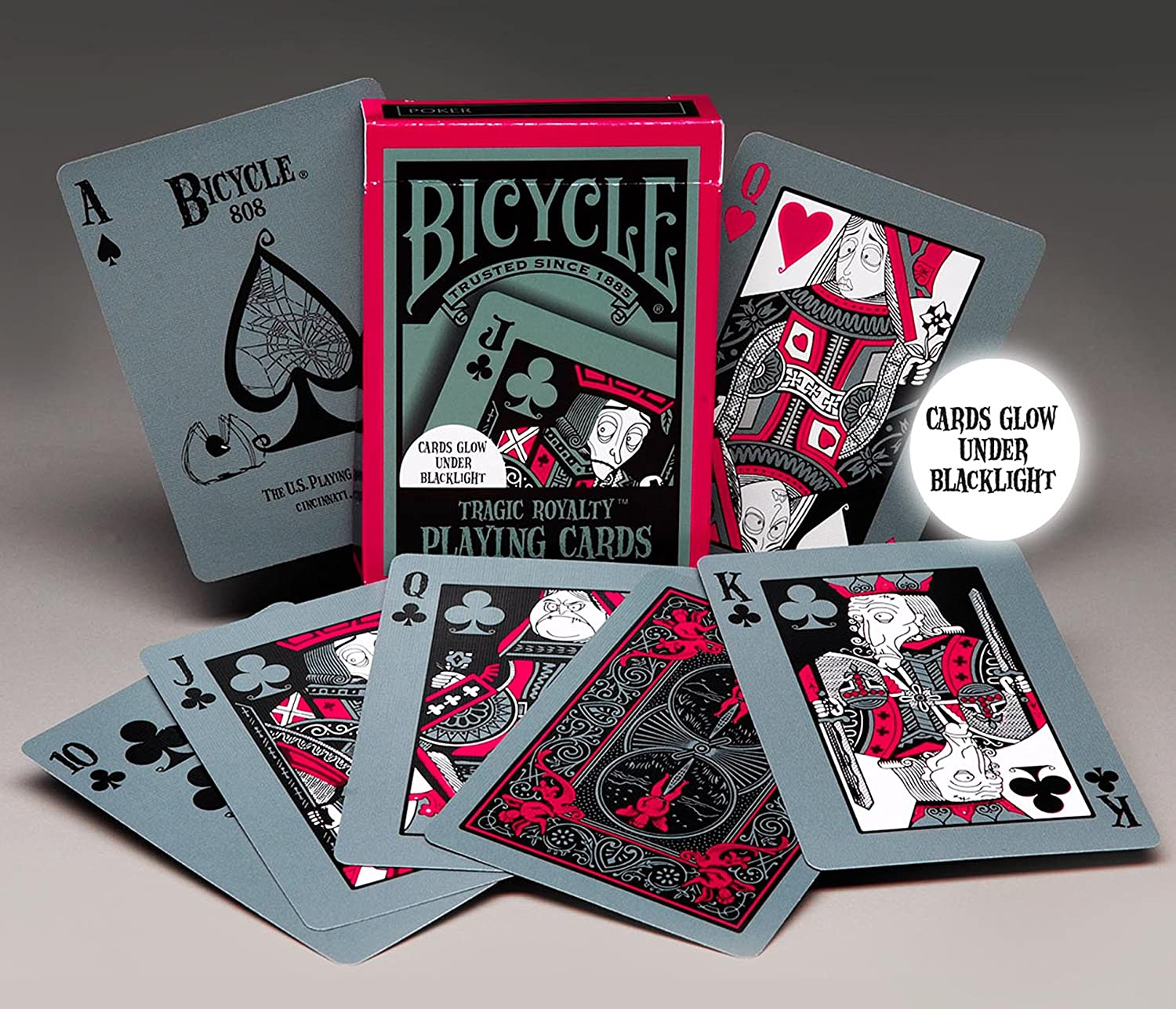 bicycle deck tragic royalty playing cards canada
