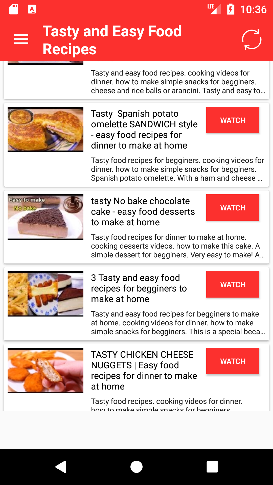 Amazon tasty food cooking and recipes appstore for android forumfinder Image collections