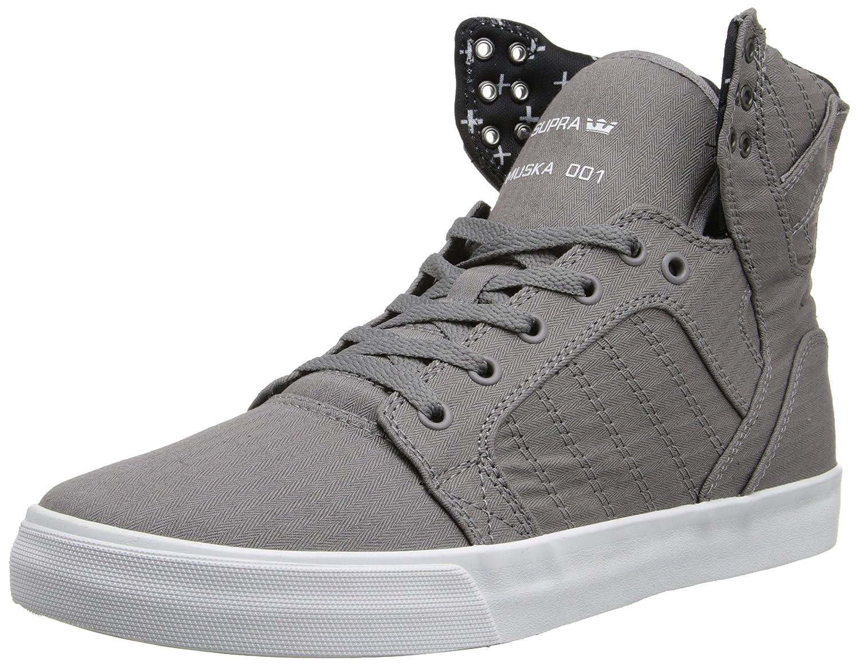 best service 1f408 3fd0c Amazon.com   Supra Skytop, Grey Micro-Herringbone 11 M US Women   9.5 M US  Men   Fashion Sneakers