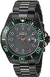 Invicta Men's 'Pro Diver' Quartz Stainless Steel Casual Watch, Color:Black (Model: 23009)