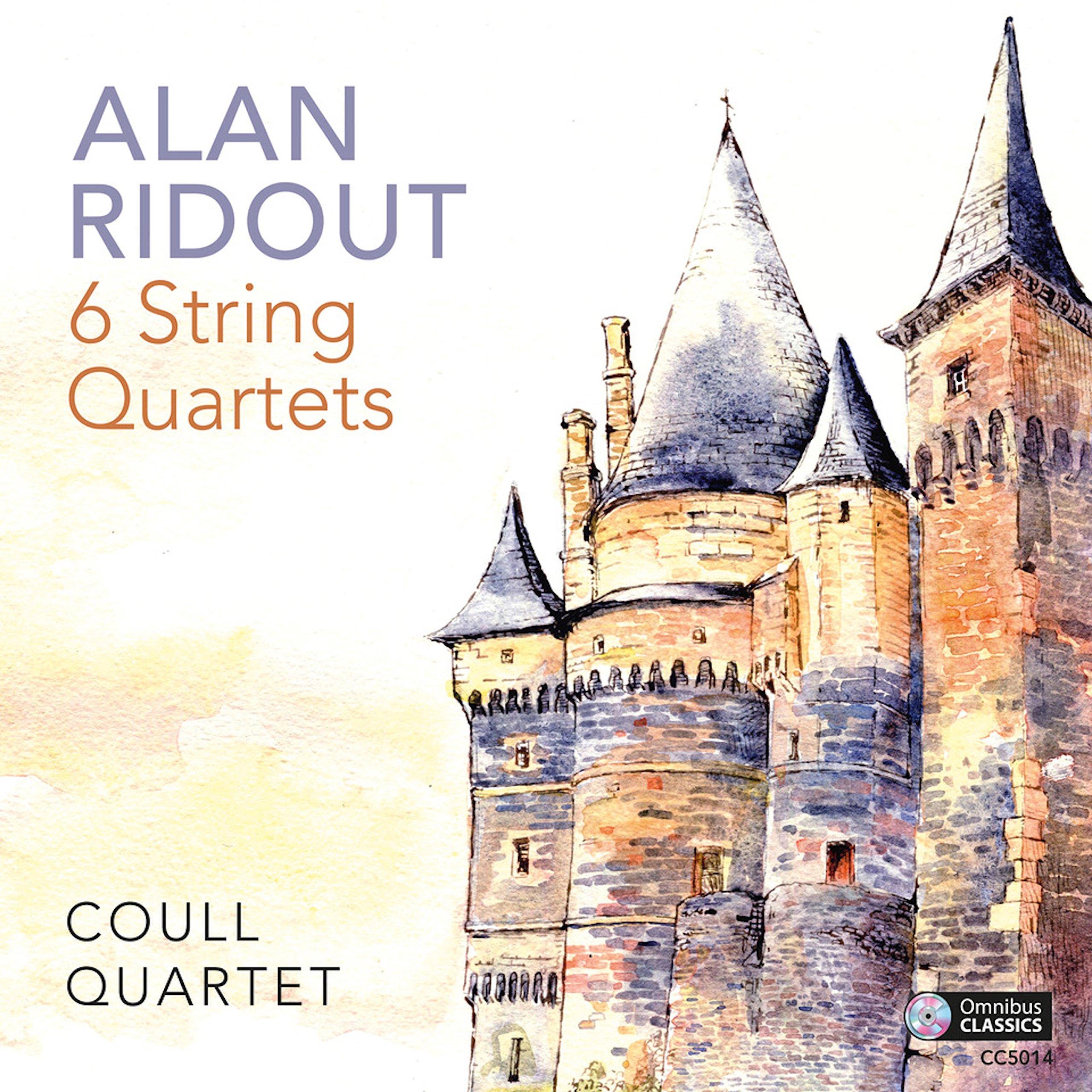 CD : Coull Quartet - 6 String Quartets (CD)